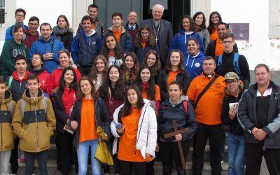 Jovens do MMF realizaram peregrinação nacional ao Santuário de Nossa Senhora da Piedade